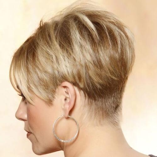 Modern Wedge Hairstyle