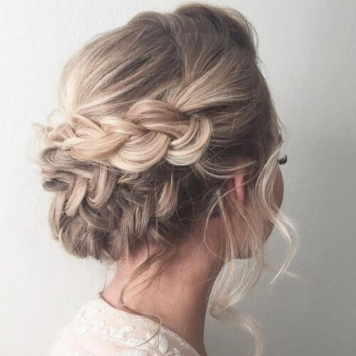 Overlapping Plaits Hairstyles