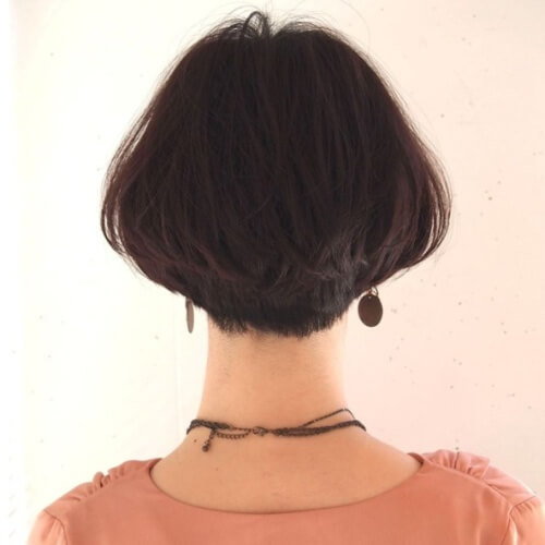 Pear-shaped Haircut
