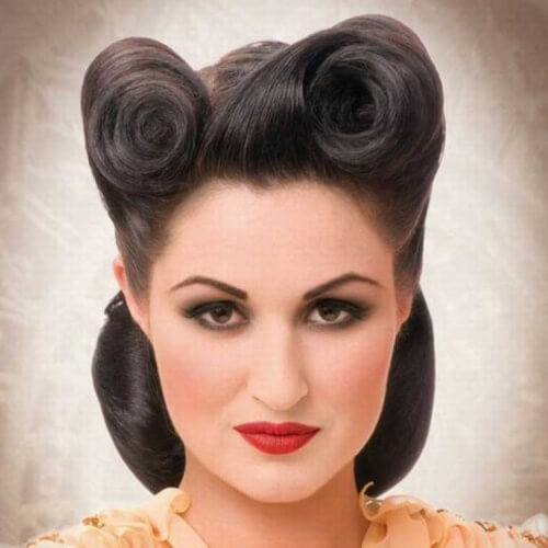 Pin Up Wedding Hairstyles for Short Hair