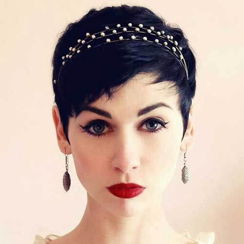 Prom Hairstyles for Pixie Cuts