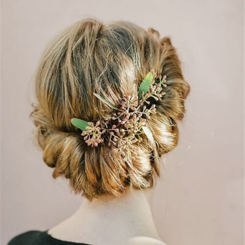 Rolled Prom Hairstyles