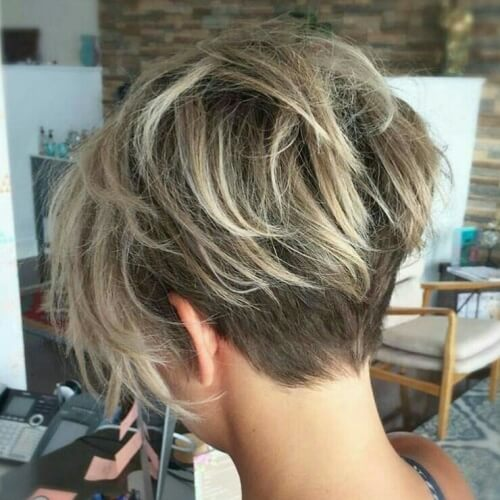 Short Stacked Wedge Haircut