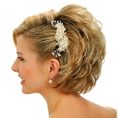 Wedding Hairstyles For Medium Hair Side 50 Wedding Hair...