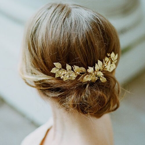 Tiara Prom Hairstyles for Short Hair