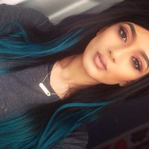Turquoise Lowlights