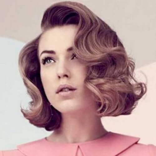 Vintage Prom Hairstyles for Short Hair