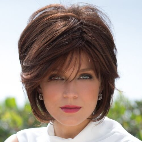 Voluminous Wedge Haircut