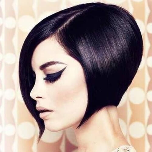Wedge Hairstyle for Straight Hair