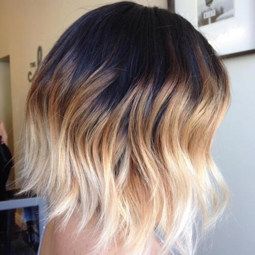 3-way Ombre Hairstyles