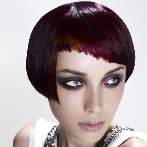 Asymmetrical Vintage Hairstyles