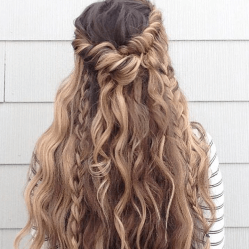 Boho Hairstyles for Curly Hair