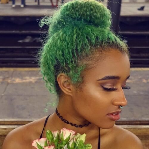 Bright Bun Hairstyles