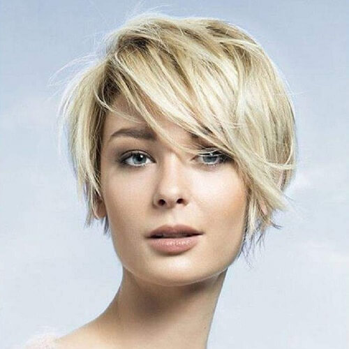 Casual Short Haircuts for Fine Hair