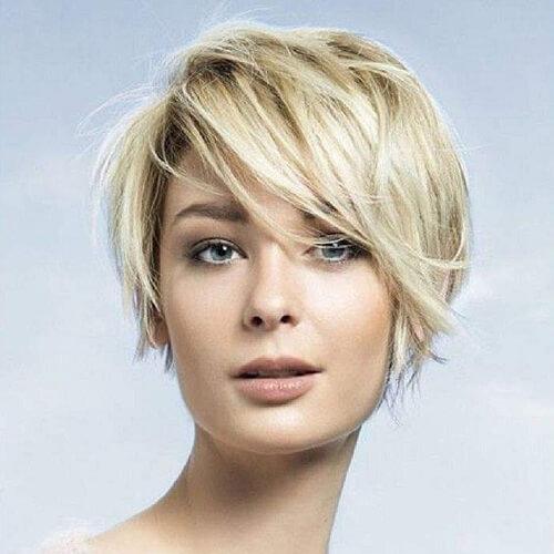 Low Maintenance Fine Hair Short Layered Haircuts 68