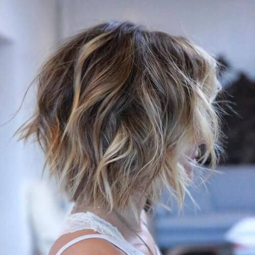 Choppy Short Haircuts for Fine Hair