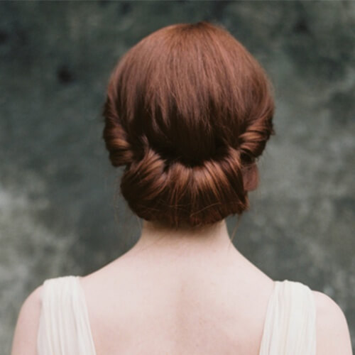 Gibson Roll Hairstyles