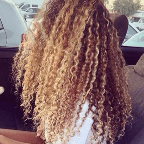 Long Curly Hairstyles with Beach Hair