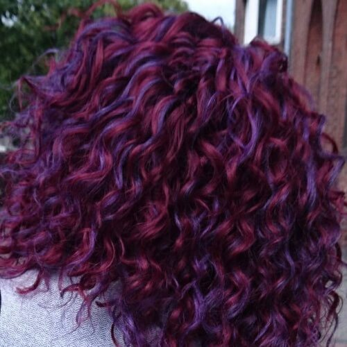 Multi-tone Long Curly Hairstyles