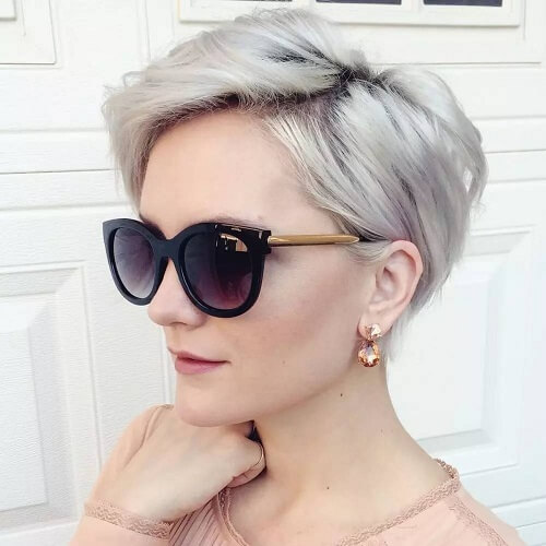 Overgrown Pixie Short Haircuts for Fine Hair