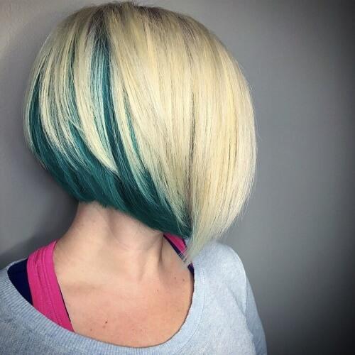 Peekaboo Ombre Hair