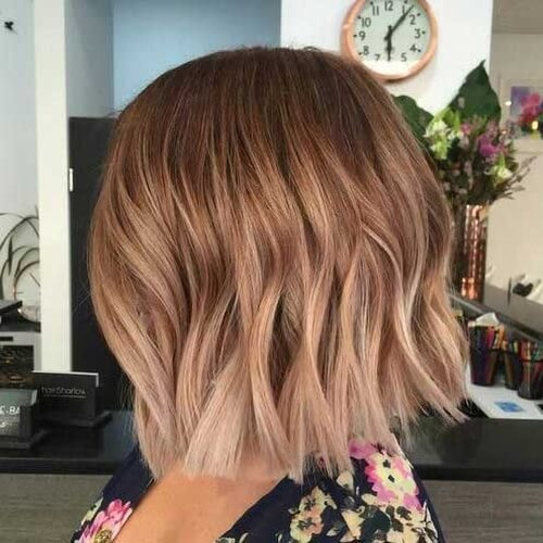 Short Cappuccino Hair