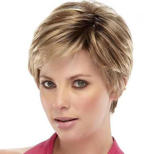 Short Haircuts for Fine Hair with Short Bangs