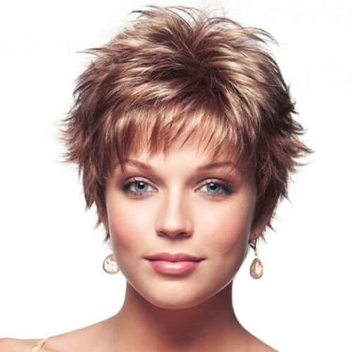 Spiky Short Haircuts for Fine Hair