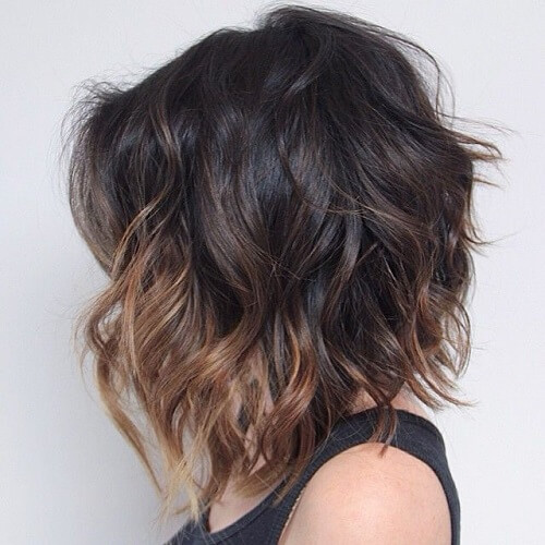 Subtle Short Ombre Hair