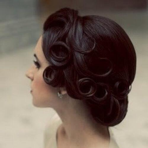 Swirled Curls Hairstyles