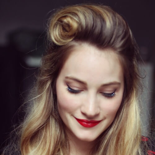Victory Roll Hairstyles
