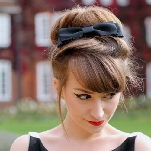 Vintage Hairstyles with Bows