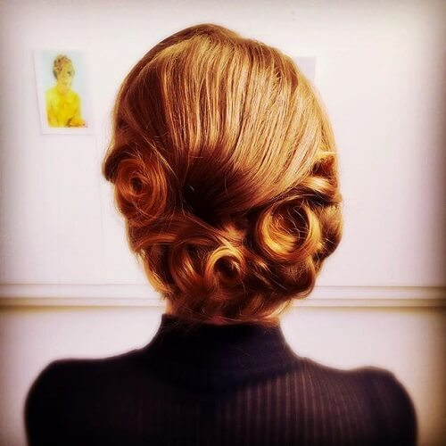 Vintage Hairstyles with Chignon