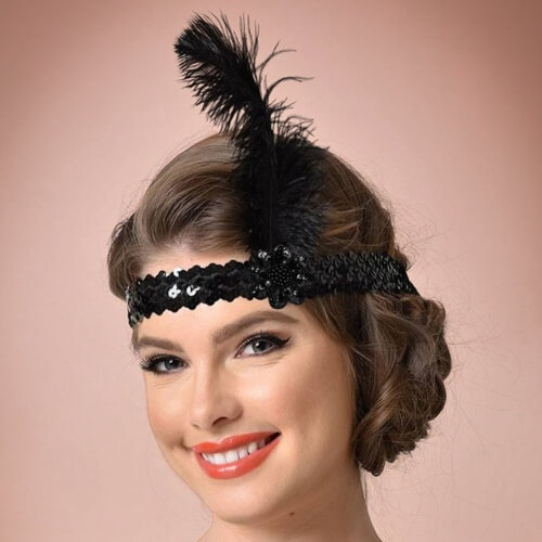 Vintage Hairstyles with Headbands