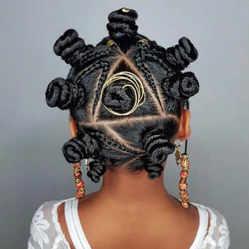 Bantu Knots Protective Hairstyles for Natural Hair