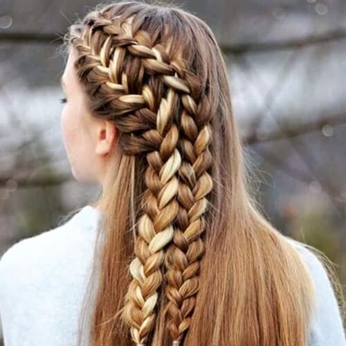 Double Braid Hairstyles