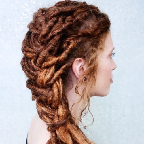 Dreadlocks French Braids