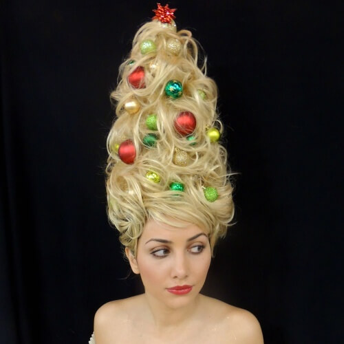 Extravagant Christmas Hairstyles