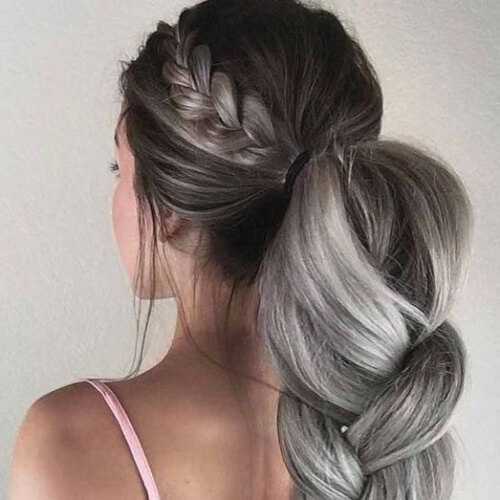 Festive Ponytail Hairstyles for Christmas Party