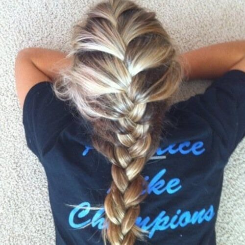 French Braid Highlights