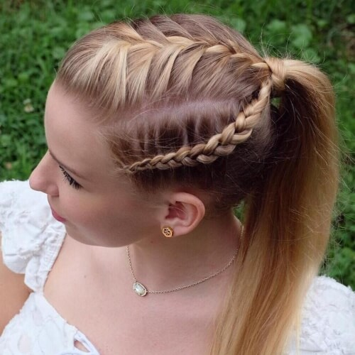 French and Dutch Braids Hairstyles