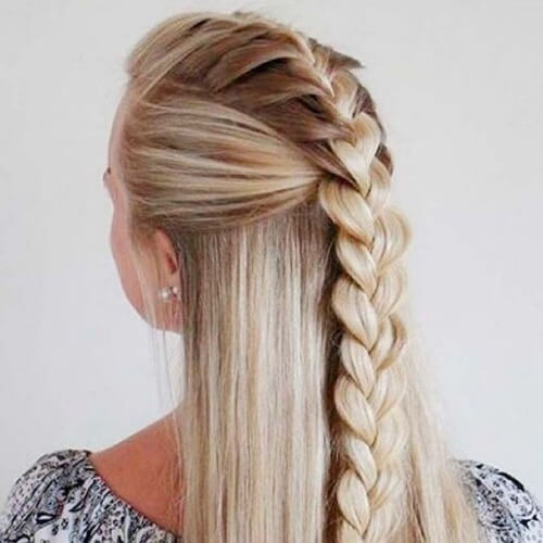 Half Up Braid Hairstyles
