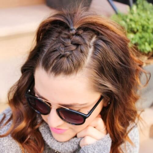 Half Up French Braid Hairstyles