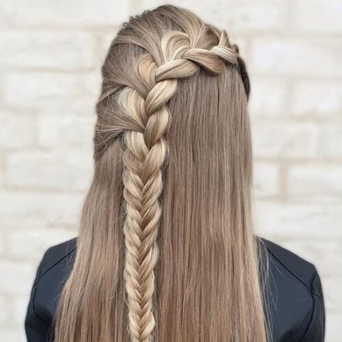 Lace French Braids