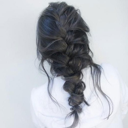 Loose French Braid Hairstyles