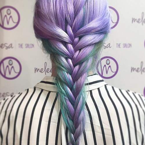 Mermaid Hair French Braids