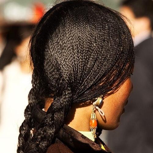 Microbraids Protective Hairstyles for Natural Hair