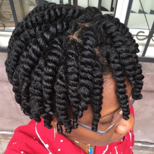 Protective Hairstyles for Natural Hair Growth