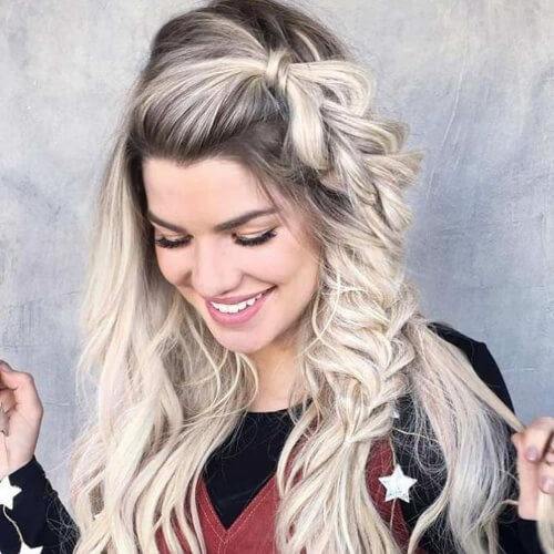 Pull Through Braid Hairstyles