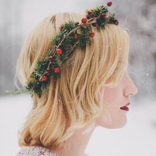 Wreath Hairstyles